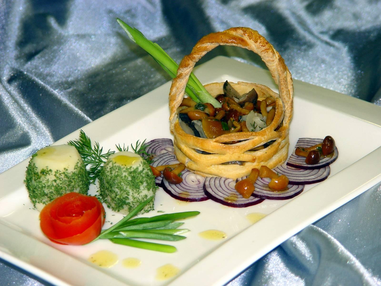 Рецепты с фотографиями украшение блюд