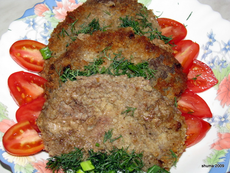 Бифштекс рубленный из свинины рецепт с фото