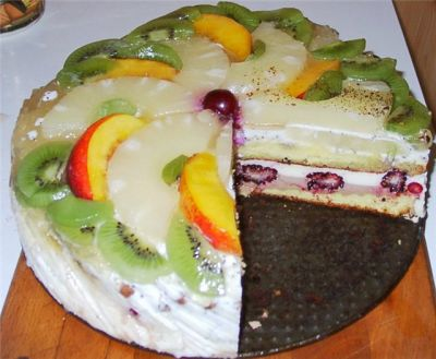 Торт бланманже